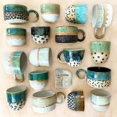 "The word ""ceramics"" comes form the Greek word ""keramikos"", which means pottery. The line of the Greek word means potter's clay and ceramic art directly … Pottery Tools, Slab Pottery, Pottery Mugs, Ceramic Pottery, Pottery Art, Slab Ceramics, Hand Painted Ceramics, Pottery Painting, Ceramic Painting"