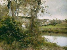 Emilio Sanchez Perrier. Spanish painter