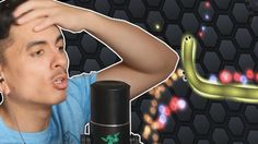 Slither.io Funny Moments and Rage | Here Comes Snek!