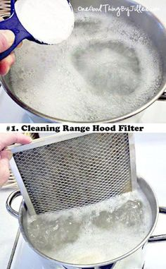 Is The Easiest Way To Clean Your Range Hood Filter How to clean that greasy stove vent filter!How to clean that greasy stove vent filter!