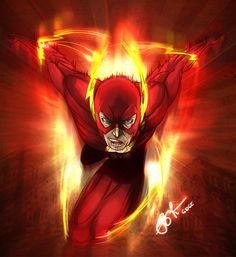 Flash Speed Force by Gideon L. Lanot