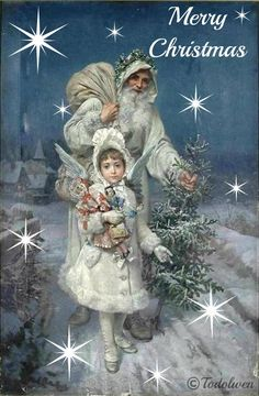 An old fashioned Christmas cover of Father Christmas (aka Papa Kringel) Vintage Christmas Images, Old Fashioned Christmas, Christmas Past, Victorian Christmas, Father Christmas, Christmas Pictures, Christmas Greetings, Winter Christmas, Christmas Postcards