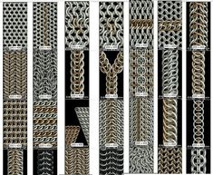 Simple weaves that are suitable for beginners. Intermediate weaves that let you expand your horizons. Advanced weaves to perfect your craft. Only attempt if you're in need of a serious challenge.  PrintingCGMaille Chainmaille Tutorials  1. Camelot  2. ... Read moreAll About Printing Chainmaille Tutorials Free