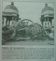Reseña periodística de la historia y destrucción del Pabellón del Ayuntamiento. 1926-1981