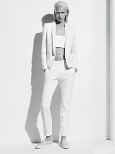 yes // white dream  Suits for women = love