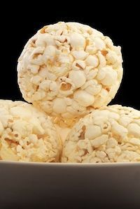 COOKING WITH KIDS - HOW TO MAKE HOMEMADE POPCORN BALLS http://twokidsandacoupon.com/2012/10/cooking-kids-homemade-popcorn-balls.html