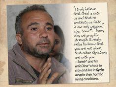 Please pray for Syria, 2 to 9 November 2014.