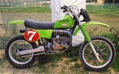 1979 Japanese Factory Kawasaki KX125SR