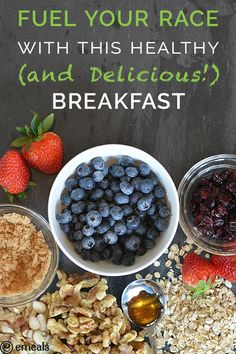 Fuel Your Race with This Healthy (and Delicious!) Breakfast