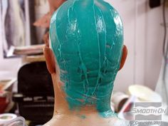 In this body casting demonstration, Body Double® silicone is used to make a full head mold Special Effects Makeup Artist, Body Cast, Skin Cream, Down Hairstyles, Craft Projects, It Cast, How To Apply, Crafting, Garden