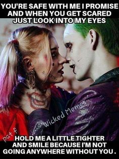 Love like Johnny and June or Harley and Puddin. Harley And Joker Love, Joker Y Harley Quinn, Harely Quinn And Joker, Joker Quotes Wallpaper, Harley Queen, Hearly Quinn, Dc Memes, Badass Quotes, Joker Love Quotes