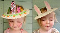 chapeau rigolo à fabriquer en carton