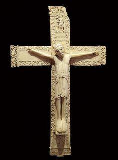 Crucifijo de don Fernando y doña Sancha - Procedente de la Colegiata de San Isidoro de León