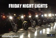 Nothing like a night ride to get this #weekend started  ----  #disturbedculture #disturbedtendencies #friday #fridays #itsfriday #itstheweekend #fridaynightlights #fridaynight #bikenight #biker #bikers #bikeride #bikerlife #bikersofinstagram #bikelife #lights #motorcycle #motorcycles #motorcyclesofinstagram #motorcyclelife #motorcyclemafia #motorcyclediaries #riding #rideordie #ride #rider #riders #livetoride #ride