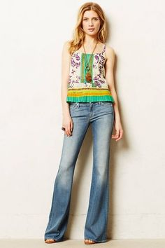 30 Reasons To Ditch Your Skinny Jeans Once And For All #refinery29 http://www.refinery29.com/flared-jeans#slide-10 ...