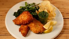 Crispy Fish Sticks with Parmesan Cheese and Parsley Caper Sauce #whatsfordinner