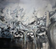 Łukasz Stokłosa: Nymphenburg, o/p, 70 x 80 cm, 2012 Rembrandt, Still Life, Surrealism, Sculpture, Illustration, Paintings, Artist, Inspiring Art, Poland