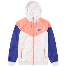 775b667de85 Nike Windrunner Jacket (White, Hot Punch & Concord) | END. Nike Windrunner