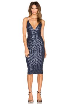 d183c07114204 Shop for Nookie Starstruck Sequin Slip Dress in Navy Sequin at REVOLVE. Free  day shipping and returns, 30 day price match guarantee.