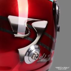 Vettel Helmet Design 2016 Spanish GP