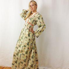 Vestito lungo di cotone