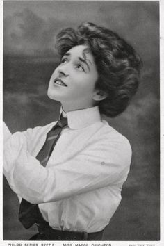Miss Madge Crichton Edwardian Beauty | Posted to Miss Norah … | Flickr