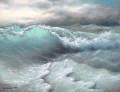 300 Ocean Wave 16 x 20 stampa Galleria di vladimirmesheryakov