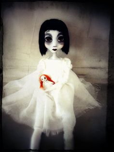 Hey, I found this really awesome Etsy listing at https://www.etsy.com/listing/248556108/ghost-girl-dark-doll-art-doll-ooak-soft