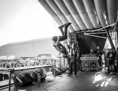 Telle doing a backflip as per ysual. This was at the Ventura warped date. I WAS THERE!