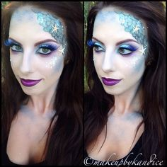 Mermaid makeup  |For more mermaid love, click here--> https://www.pinterest.com/thevioletvixen/wish-you-were-a-mermaid/