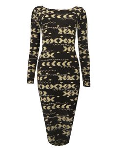 Long Sleeved Midi Dress  £8.99!  www.exciteclothing.com