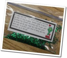 Grinch Dust and Grinch Activities