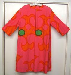 1966 Marimekko, Design Research Dress, Cotton