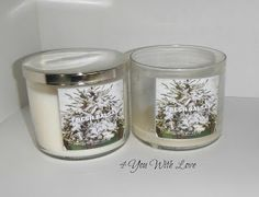 How To Clean Out Your Bath & Body Works Candle Jars For Storage (Extremely Cute Blog As Well)