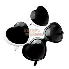6e7a47d8eb08 P4PM New Sweet Popular Cute Glasses Girl Fashion Novelty Heart Shape  Sunglasses  Unbranded Heart Shaped