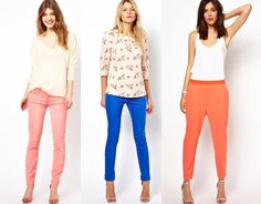 Jeans Coloridos