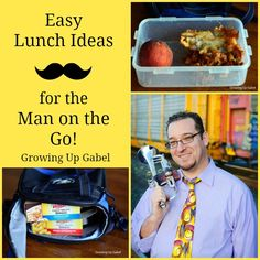 Easy Lunch Ideas For The Man On Go Shop Personalfeast Cbias