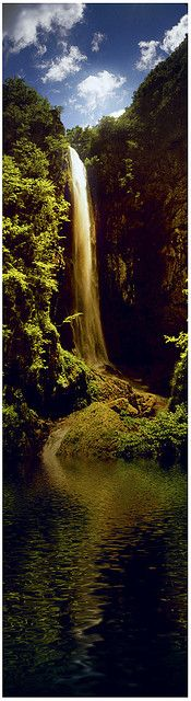 Livaditis Waterfall, Greece #Waterfall #Water