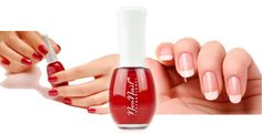 Find us on: www.facebook.com/NeoNailPL red french nails mnicure