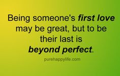 #quotes - Being someone first...more on purehappylife.com