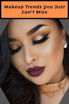 These fall makeup trends are basic, daring and striking, and all absolutely unmissable. Makeup Trends, Makeup Tips, Beauty Makeup, Eye Makeup, Pretty Makeup Looks, Stunning Makeup, Makeup For Beginners, Fall Makeup, Beauty Hacks