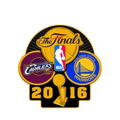Cleveland Cavaliers vs. Golden State Warriors 2016 NBA Finals Bound Dueling Pin #Aminco