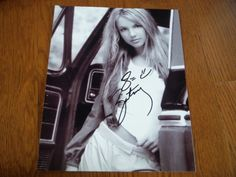 this was purchased previously on ebay from a reputable dealer. if i received a COA it will be posted with the pictures else i did not receive one. Thi... #hand #signed #photo #autographed #spears #britney
