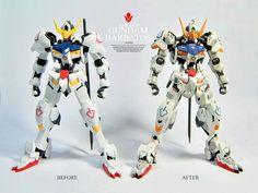 GUNDAM GUY: HG 1/144 Gundam Barbatos ver.Dree - Customized Build