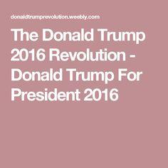 The Donald Trump 2016 Revolution - Donald Trump For President 2016