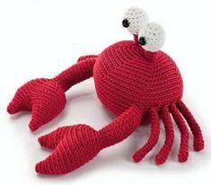Červený krab - NÁVODY NA HÁČKOVÁNÍ