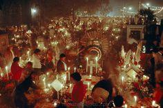 images of graveyards in rural Mexico | Festivales: Día de los Muertos, México / Festivals: Day of the Dead ...