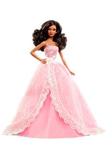 2015 Birthday Wishes® Barbie® Doll—African-American made 2014