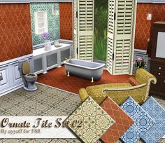 ayyuff's Ornate Tile Set 02