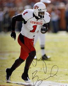 ac73e4e95bb Dez Bryant Autographed Oklahoma State Cowboys 16x20 Photo - Sports  Memorabilia